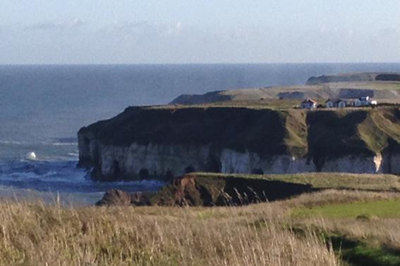 North Landing Cliff tops